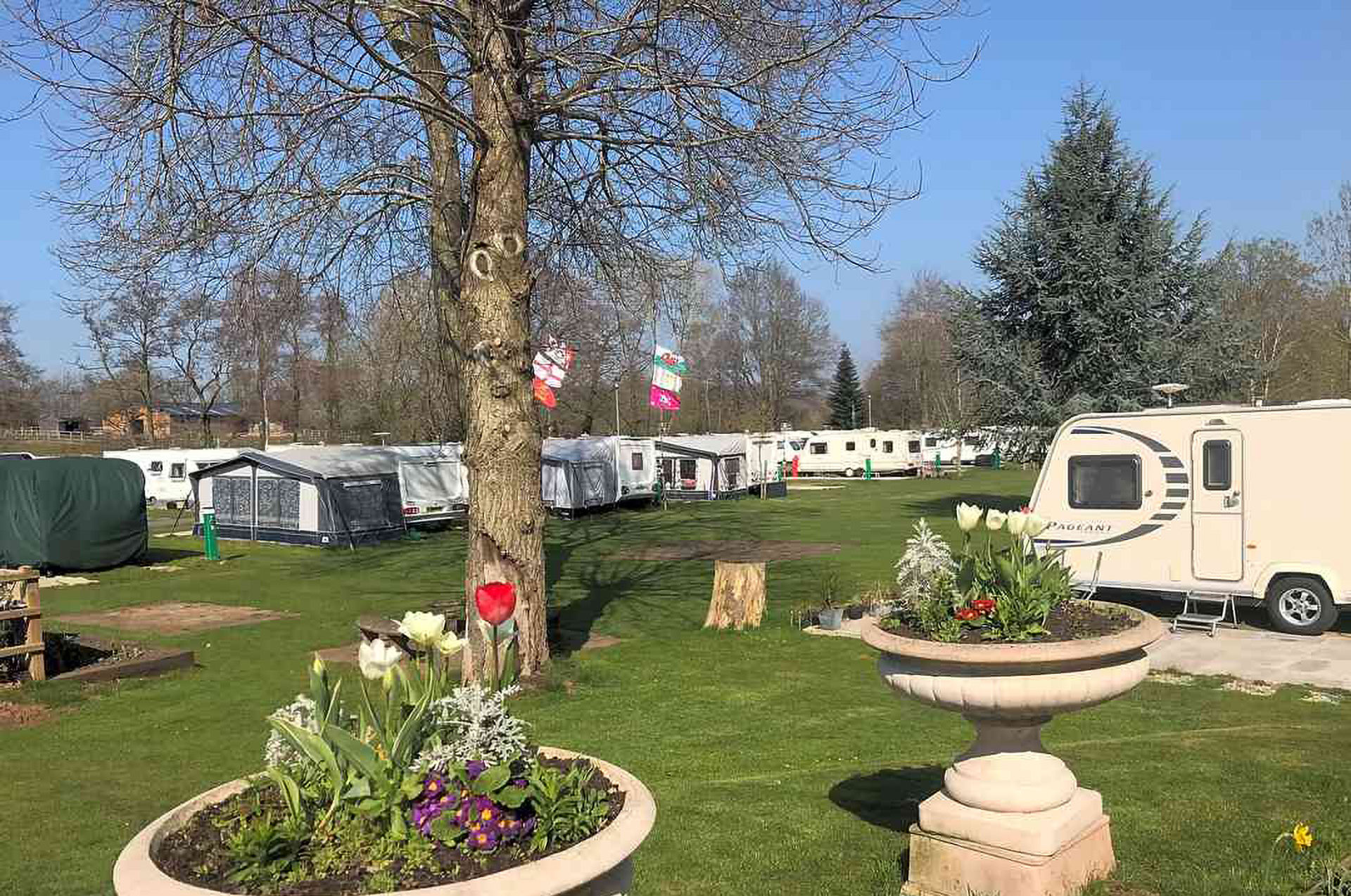 Glen Trothy Caravan and Camping Park