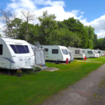 Picture of Glen Trothy Caravan and Camping Fully Electric Grass Touring Pitch