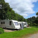 Picture of Glen Trothy Caravan and Camping Fully Serviced Hard-standing Touring Pitch