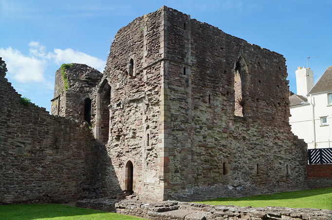 photo of Monmouth Castle
