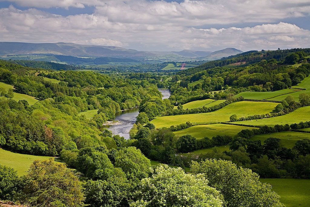 Photo of Wye Valley area of outstanding natural beauty